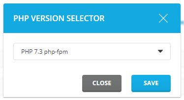 Directadmin PHP versie veranderen
