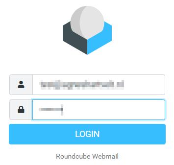 Webmail inlogpagina