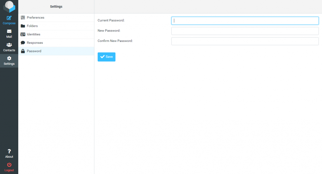 Webmail wachtwoord wijzigen